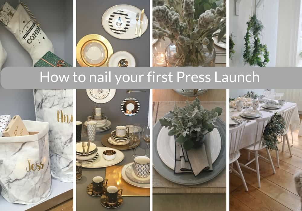How to nail your first press launch