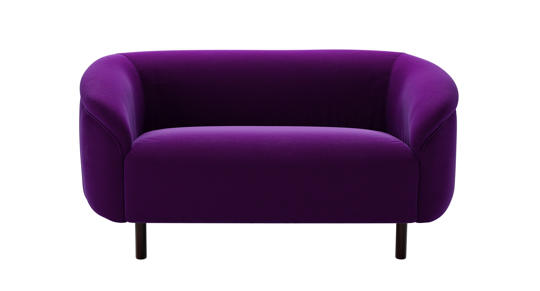 ultraviolet ultra violet grayson sofa inside stylists. Black Bedroom Furniture Sets. Home Design Ideas