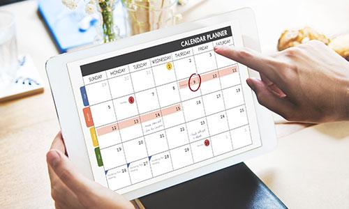 PR Event Calendar