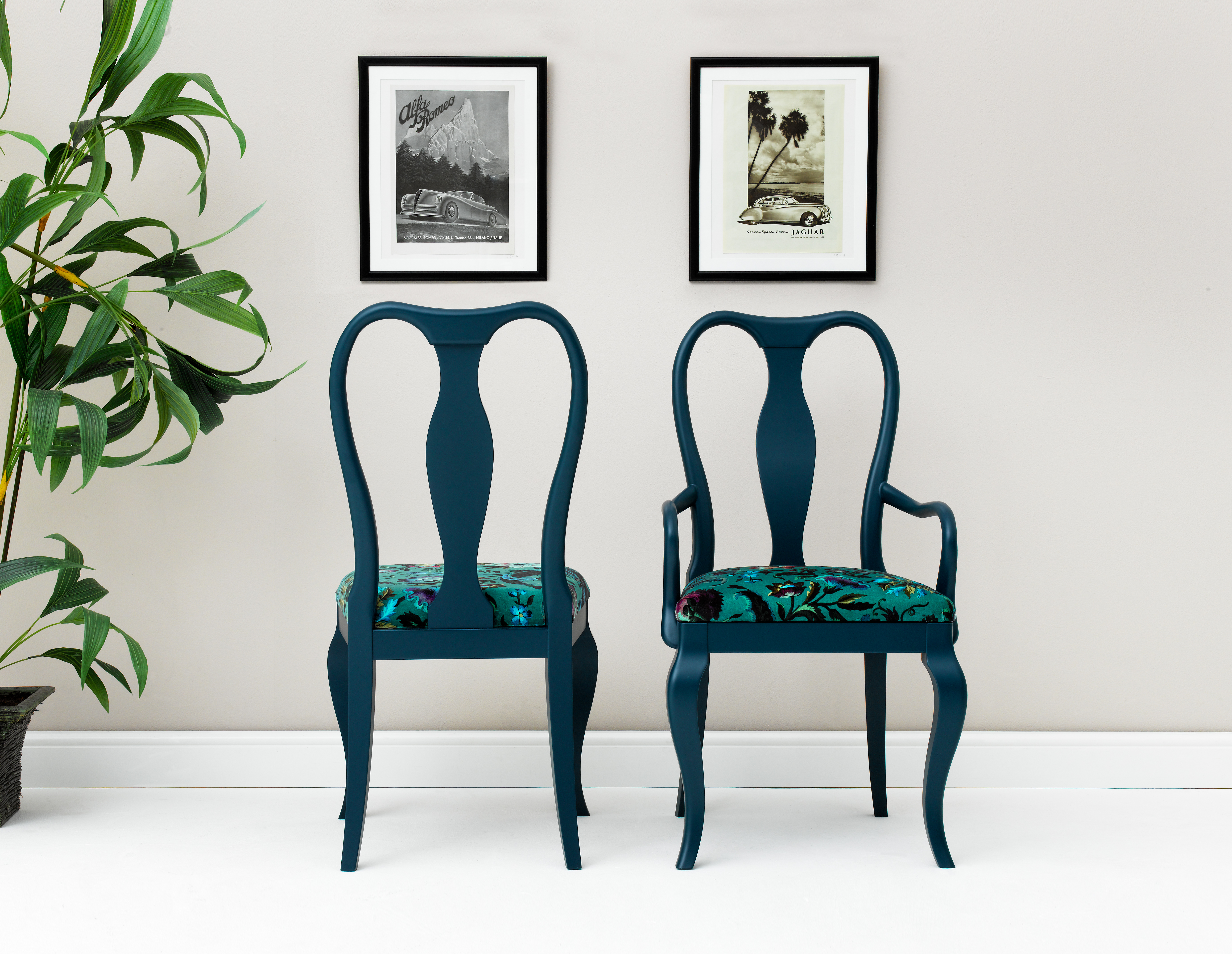 Cheeky chairs, great for styling photoshoots