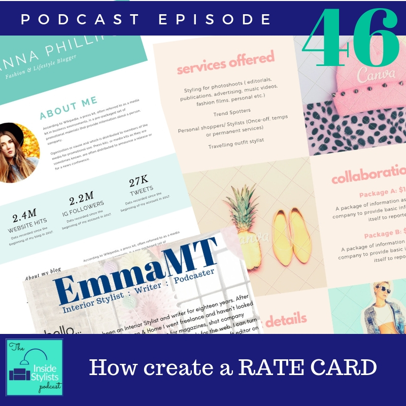 How to create a rate card for freelancers