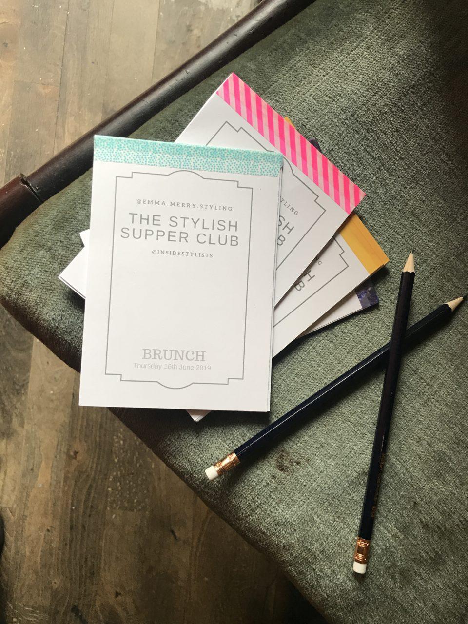 Emma Merry Emma Morton-Turner The Stylish Supper Club