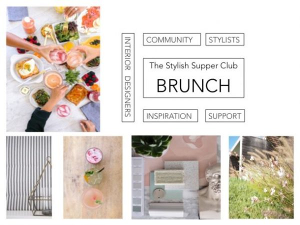 Interior stylists & interior designer Brunch at Hello Darling