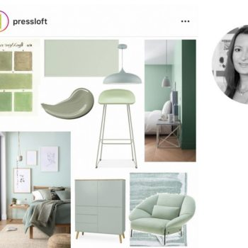 Pressloft for interior stylists