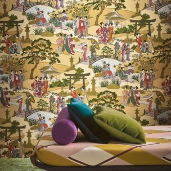 Manuel Canovas Fabric and wallpaper trends from UK Design week 2020
