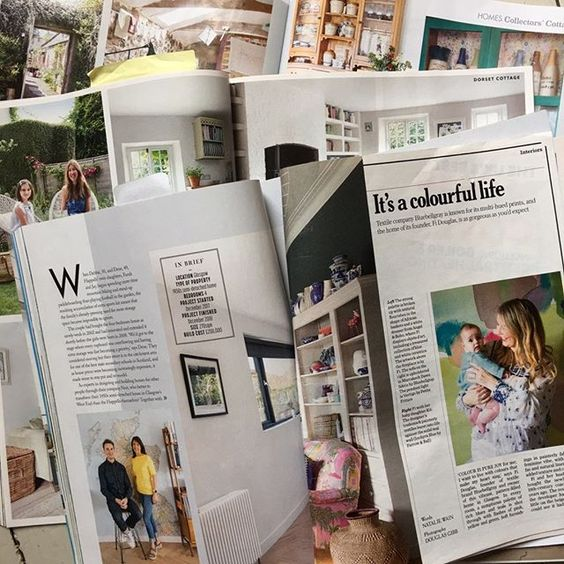 We love interiors magazines!