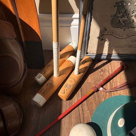 20 of the best vintage interiors in the UK. Vintage croquet games memorabilia