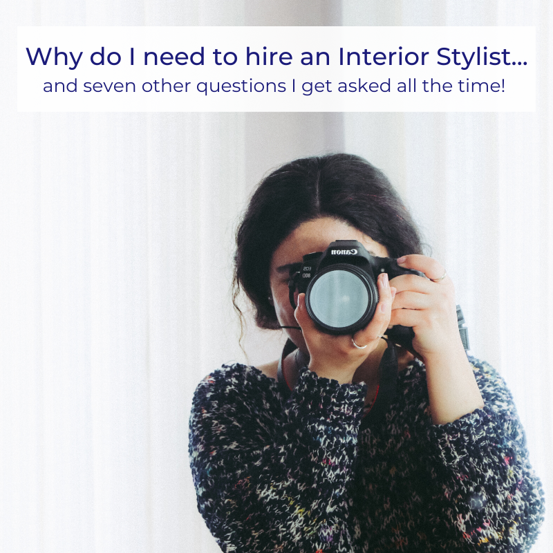 hire an interior stylist for your photoshoot