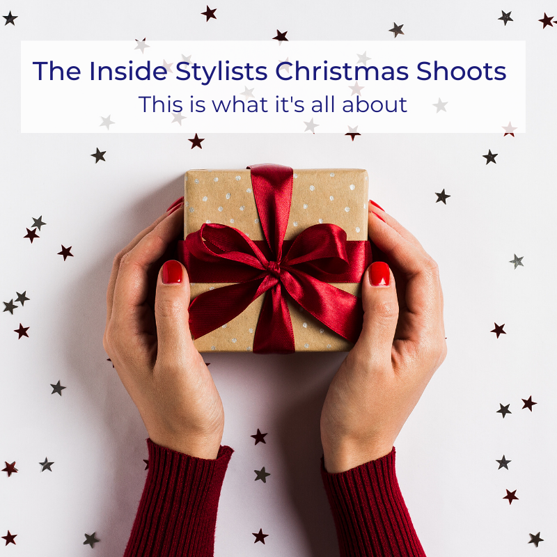 The inside Stylists Christmas shoot