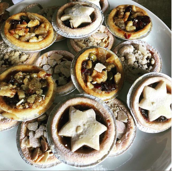 Mince pies from Betty's in Yorkshire