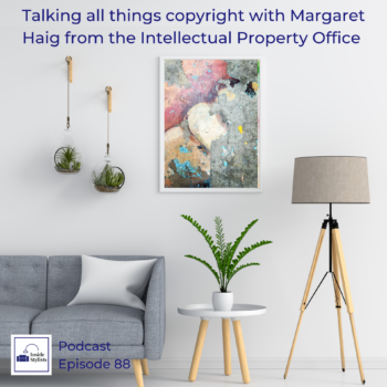 Talking All things copyright with Margaret Haig from the Intellectual property office