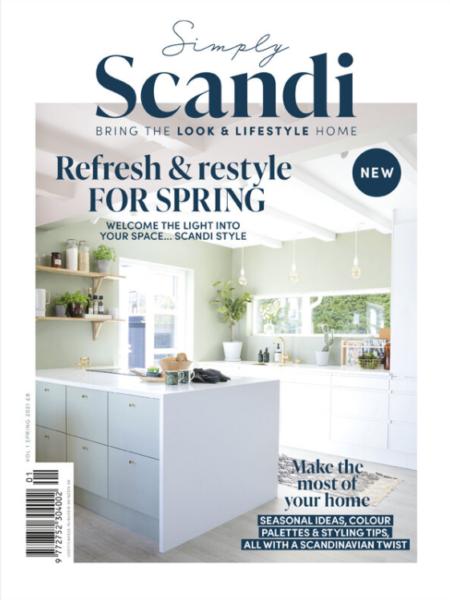 Jennifer Morgan Editor of Scandi at Home