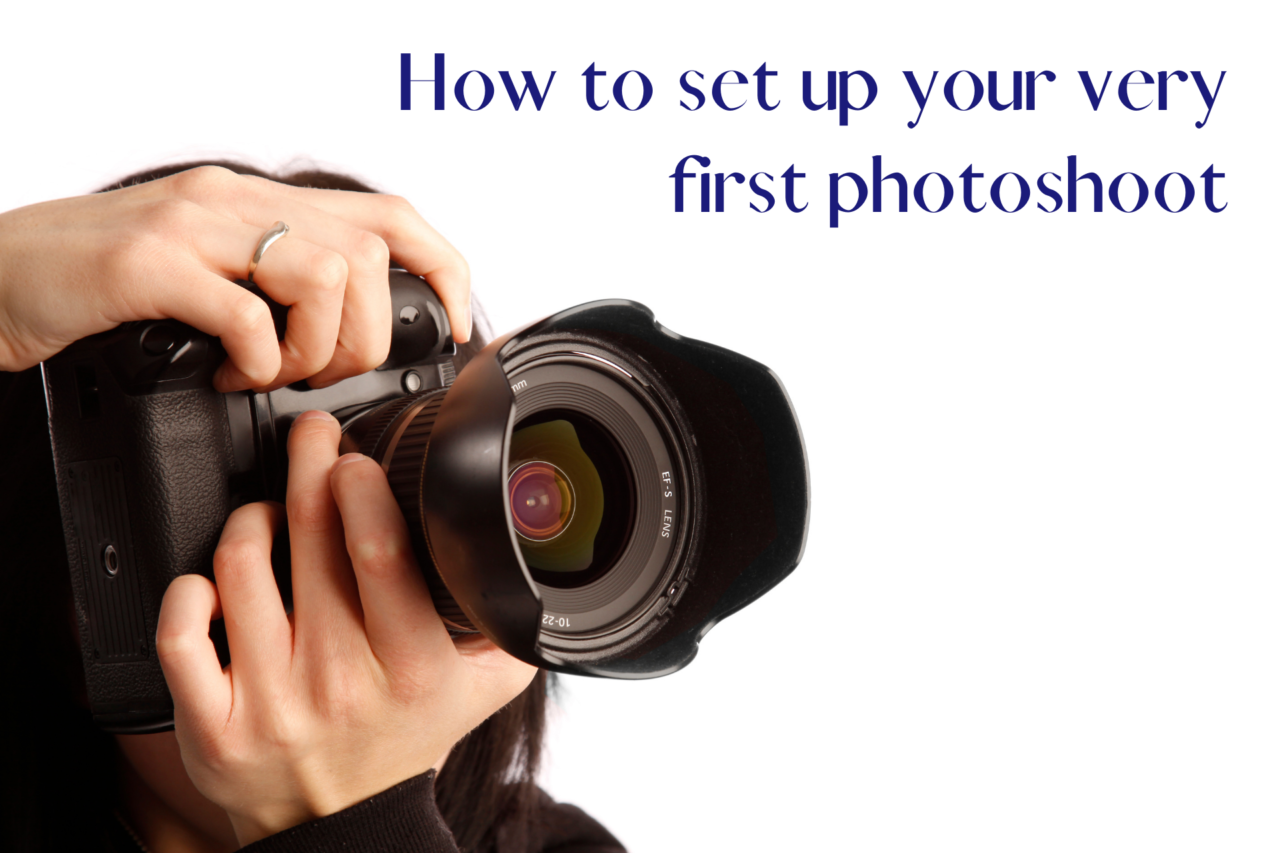 How to set up your first photoshoot